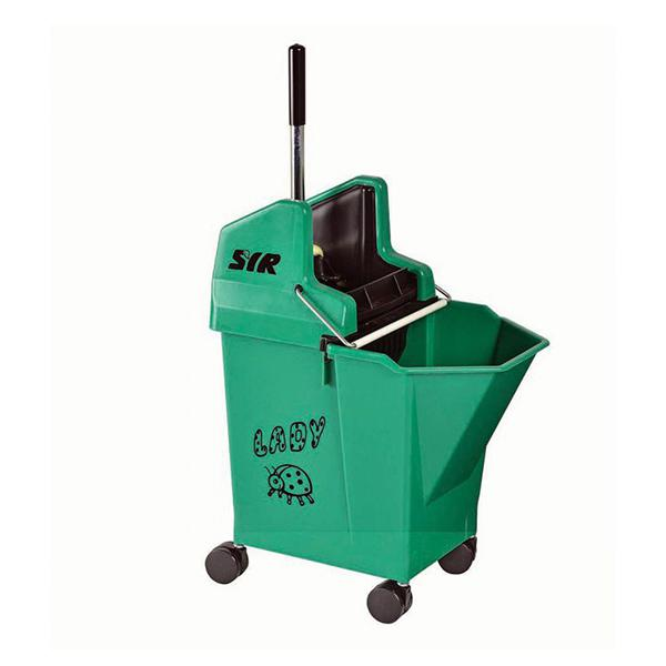 Lady-Combo-Bucket---Wringer---Green