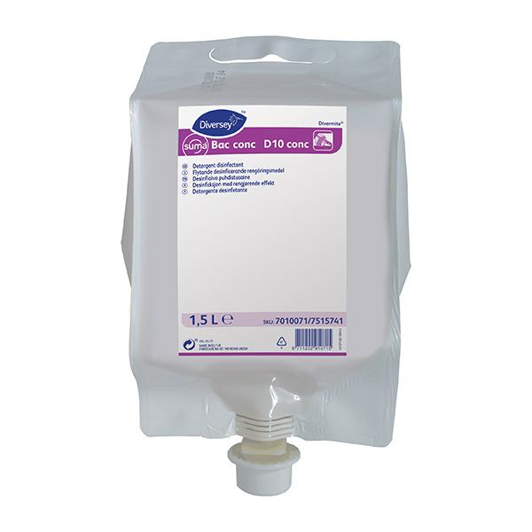Diversey-Suma-Bac-Sanitiser-Cleaner-D10
