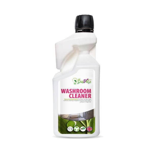 Nu-Bio-Scrub-Dosing-Bottle-One-Flip-Lactic-Acid-Based--Daily-Descaler--Sani-Cleaner