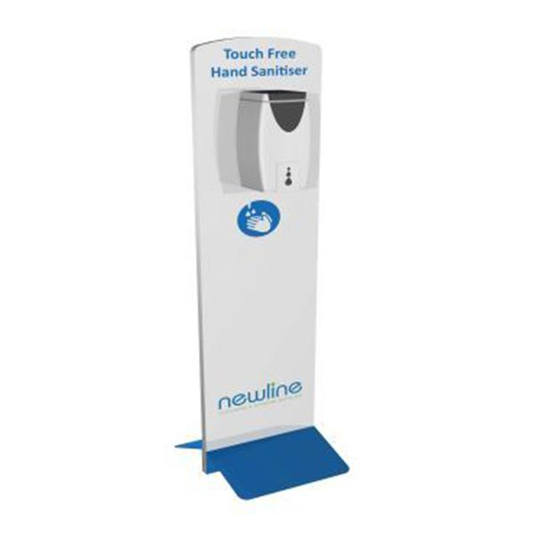 Hand-Sanitising-Station-With-Automatic-Dispenser---Economy