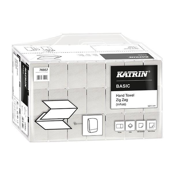Katrin-Zig-Zag-White-2ply-Hand-Towels-35564--22.4-x-23cm