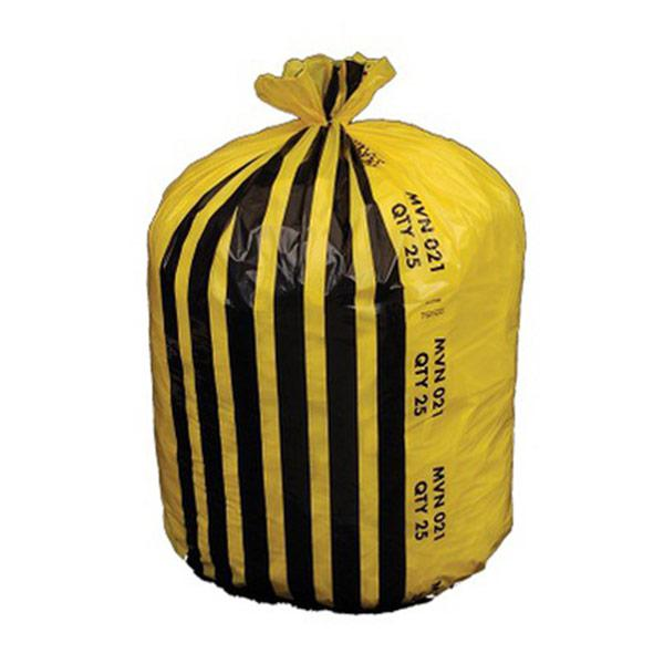Yellow-Tiger-Stripe-Refuse-Sacks-on-a-roll