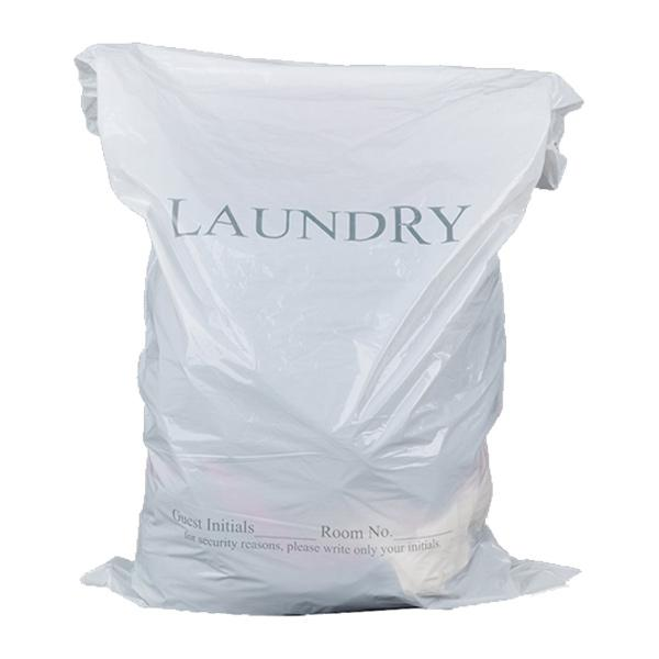 Disposable Hotel Laundry Bags White