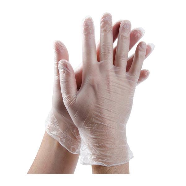 Vital-Clear-Vinyl-Examination-Gloves-N-P---XL-EN455-Parts-1--2---3---AQL-1.5