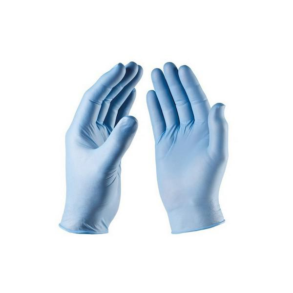 Nitrile-Blue-Non-Powdered-Gloves-XL-EN455-Parts-1--2--3---4---AQL-1.5