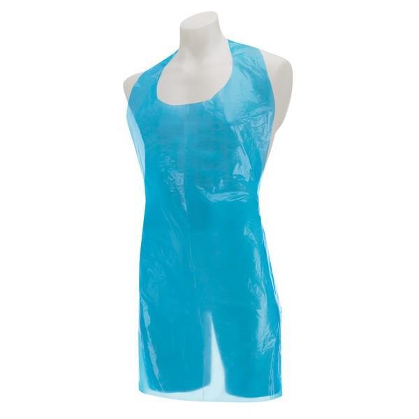 Polythene-Aprons-ON-A-ROLL---Blue