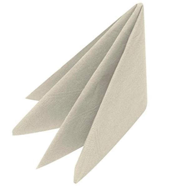 40cm-8-Readyfold-Napkins---2ply---Devon-Cream