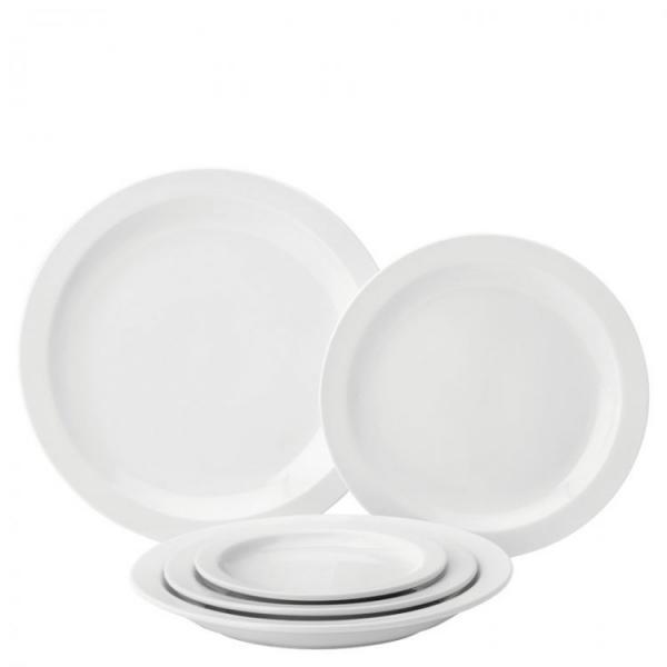 Pure-White-Narrow-Rim-Plate-9---23cm-