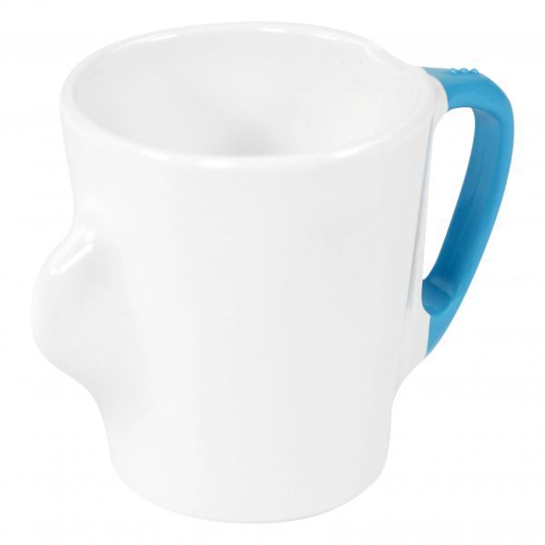 Omni-White-Mug-with-Blue-Handle-300ml-130-x-90-x-100mm