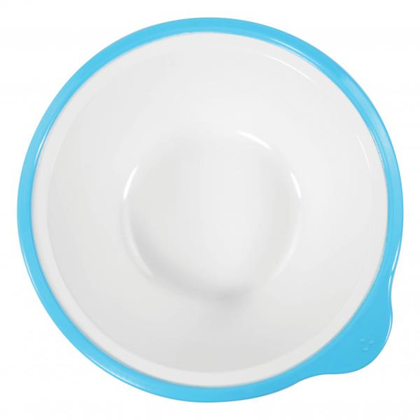 Omni-White-Bowl-with-Blue-Rim-400ml-180-x-170-x-50mm