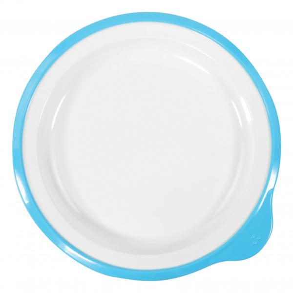 Omni-White-Small-Low-Plate-w--Blue-Rim-180-x-170-x-20mm