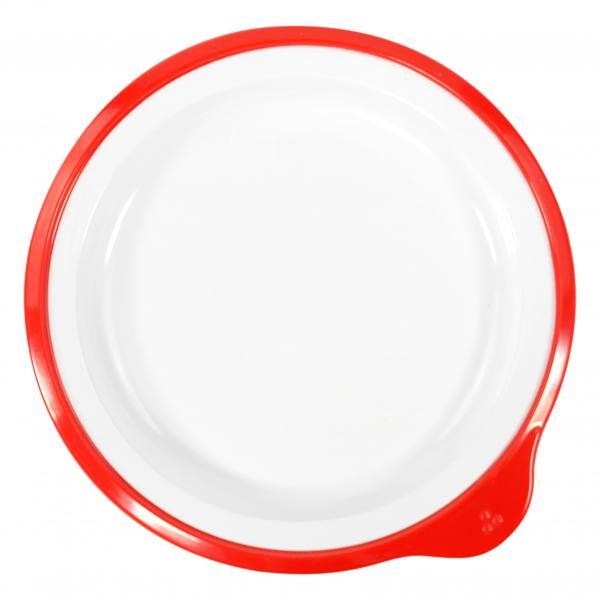 Omni-White-Small-Low-Plate-w--Red-Rim-180-x-170-x-20mm