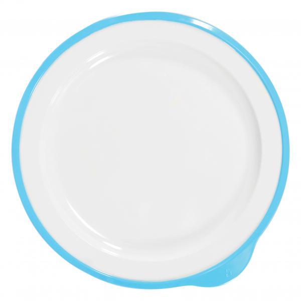 Omni-White-Large-Low-Plate-w-Blue-Rim--240-x-230-x-20mm