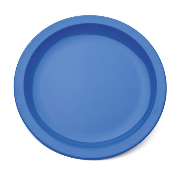 9--Polycarbonate-Rimmed-Plate---BLUE