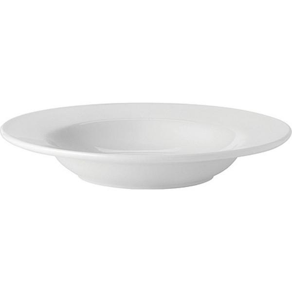 Pure-White-Rimmed-Soup-9---22.5cm-