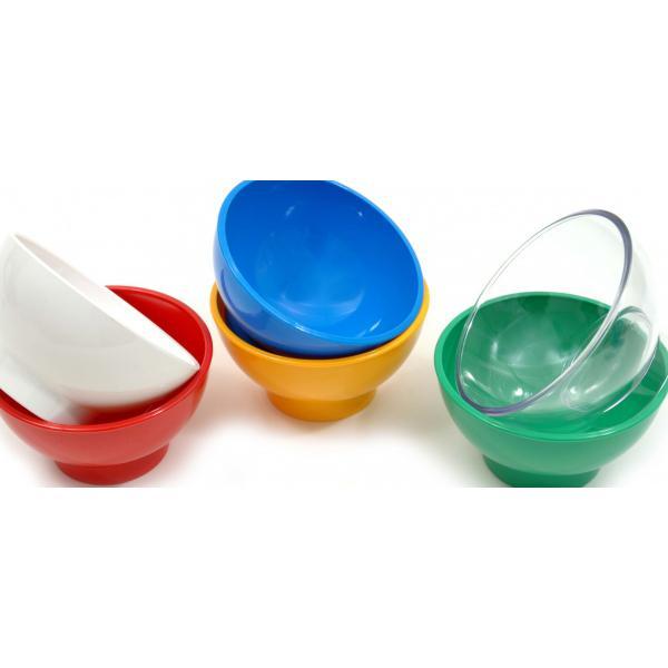 3.3-4--Polycarbonate-Sundae-Bowl---Red
