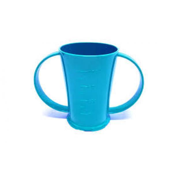 Polycarbonate-2-Handled-Beaker---Blue