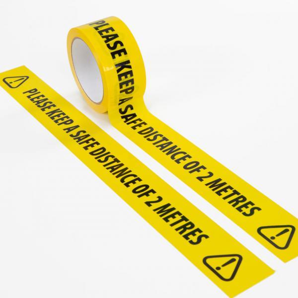 Keep-Safe-Distance-Self-Adhesive-Floor-Tape